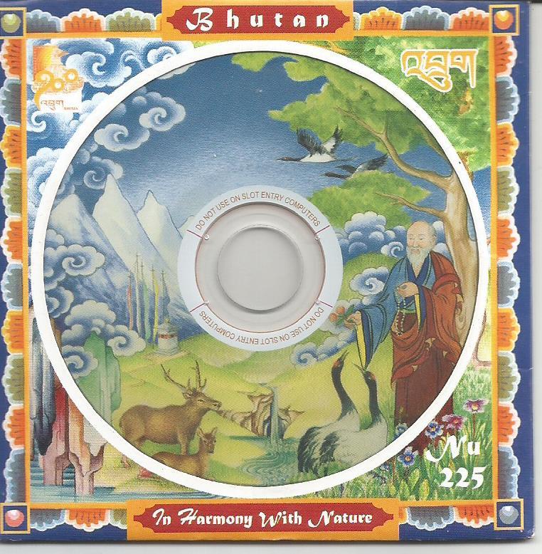 BHUTAN CD ROM 2