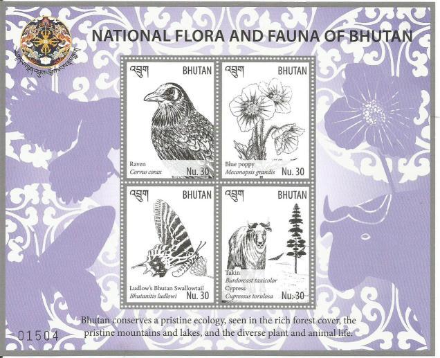 BHUTAN FLORA & FAUNA MS