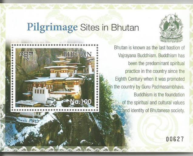 BHUTAN MS PILGRIMAGE SITES