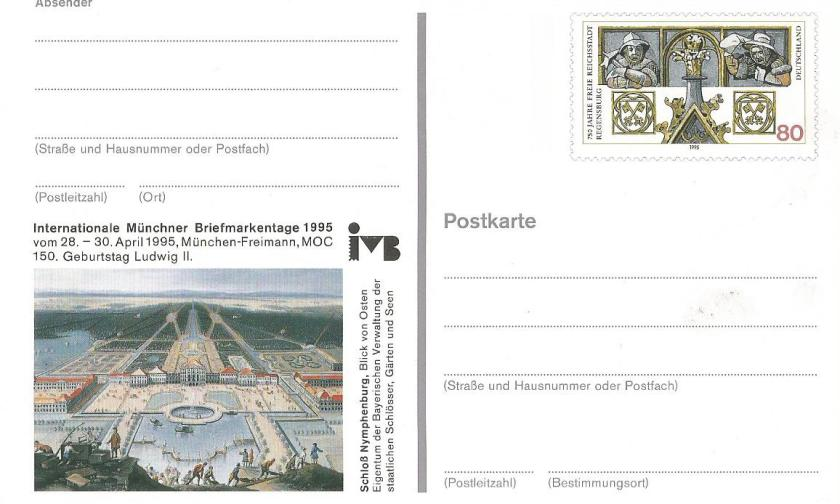POSTCARDS OF GERMANY