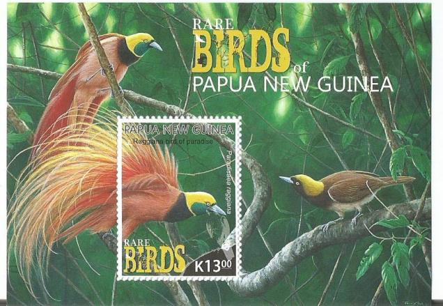 PNG BIRDS MS1V
