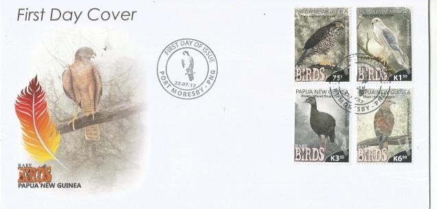 PNG BIRDS MS4V FDC