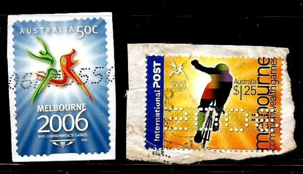 CWG XVIII 2006 STAMP
