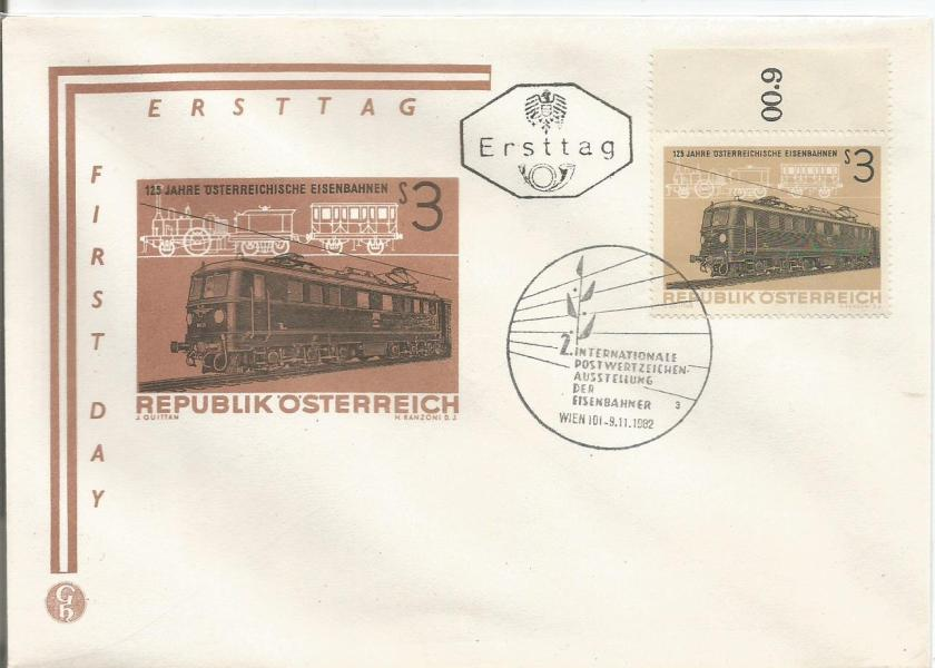 125th ANNIVERSARY OF AUSTRIAN RAILROADS