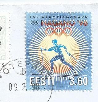 STAMPS ON NAGANO OLYMPICS 1998