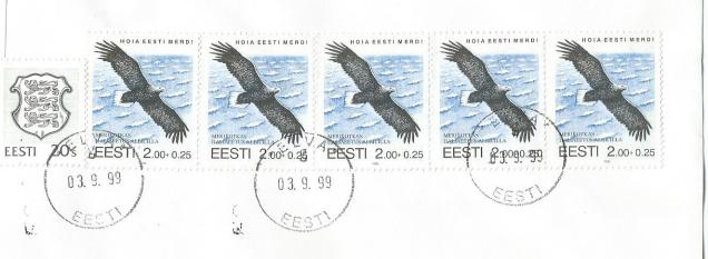 ESTONIA WHITE TAILED  EAGLE