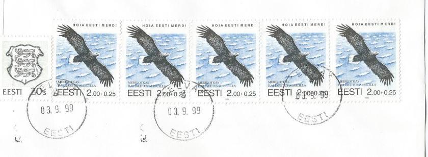 ESTONIA WHITE TAILED  EAGLE