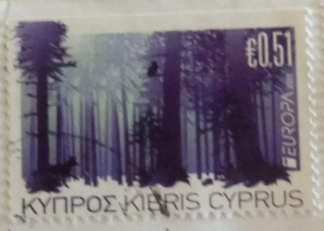 EUROPA 2011 -FORESTS -STAMPS OF CYPRUS