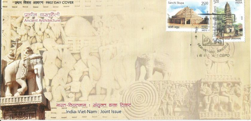 INDIA - VIETNAM JOINT ISSUE FDC