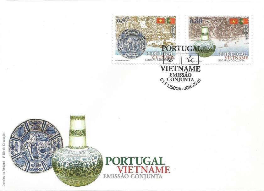PORTUGAL-VIETNAM-JOINT ISSUE- FDC