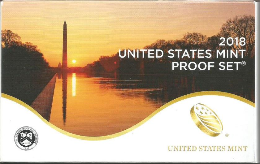 USA COINS 2018 -PROOF SET