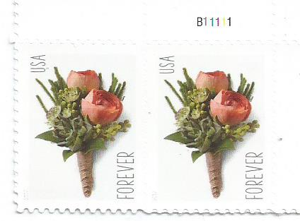 USA FOREVER CELEBRATION BOUTONNIERE STAMP