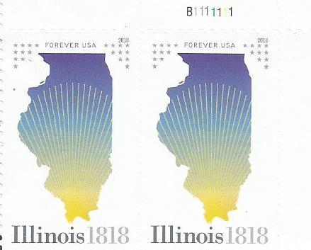 200 YEARS ILLINOIS STATEHOOD 1818-2018