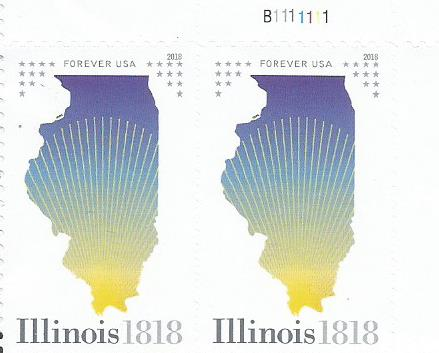 200 YEARS ILLINOIS STATEHOOD 1818-2018