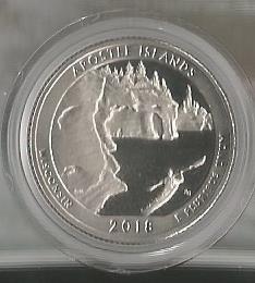 APOSTLE ISLANDS WISCONSIN COIN
