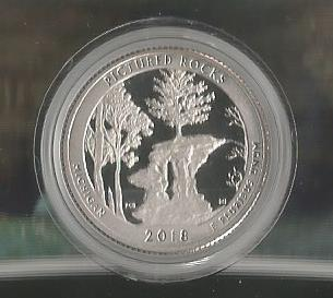 PICTURED ROCK PROOF COIN