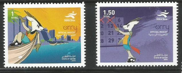 2006 DOHA ASIAD -ORRY THE MASCOT
