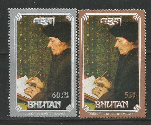 BHUTAN 93 PAINTINGS 2