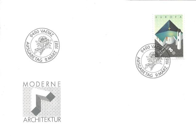 EUROPA 1987 Liechtenstein