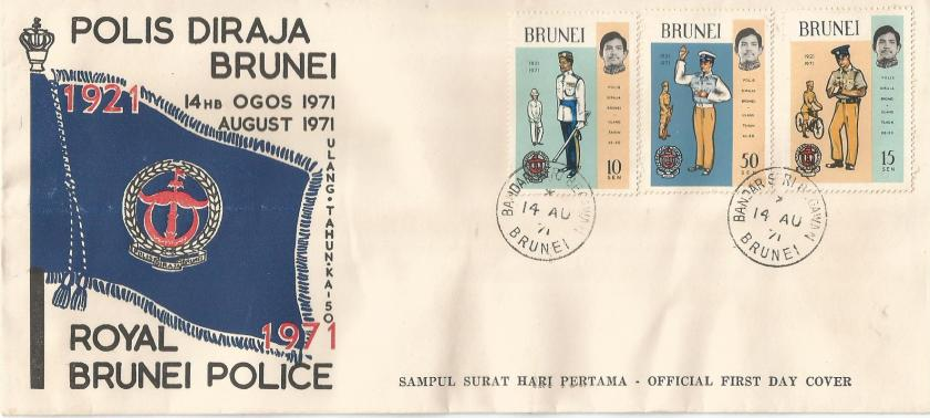 FDC BRUNEI POLICE