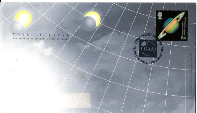 FDC GB TOTAL ECLIPSE