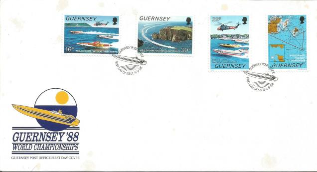 FDC GUERNSEY POWERBOATING