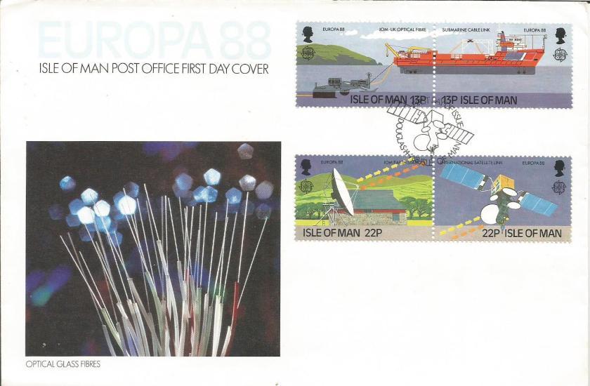 FDC IOM EUROPA 88