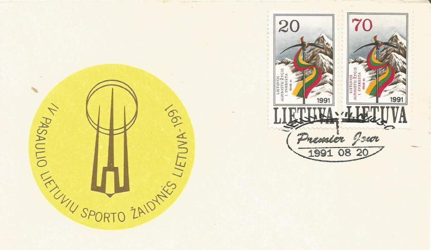 FDC LITHUANIA MT EVEREST