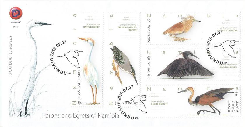 FDC NAMIBIA HERONS