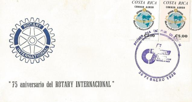 FDC ROTARY COSTA RICA