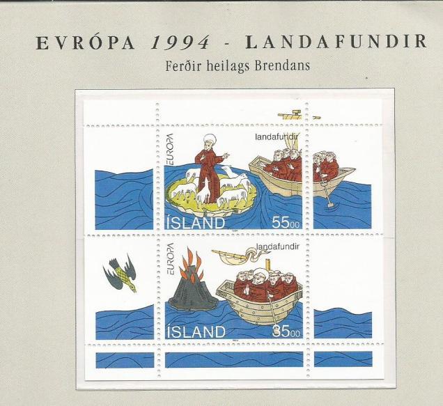 ICELAND EUROPA 94