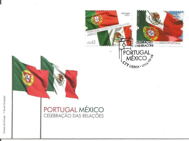 PORTUGAL MEXICO JOINT ISSUE 2014