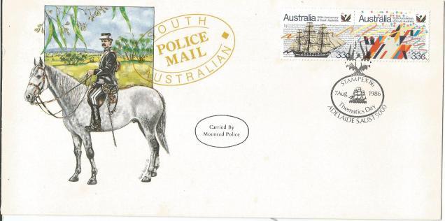 SPL CVR MOUNTED POLICE AUS