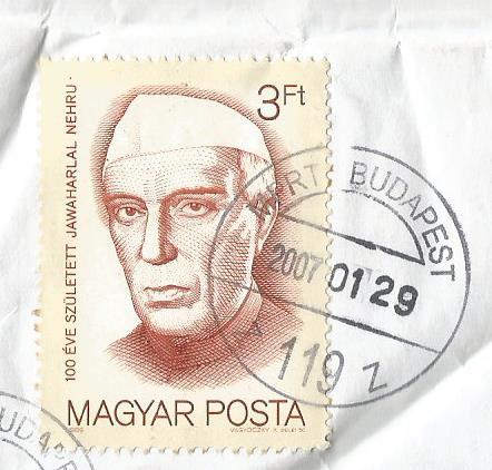 STAMPS HUNGARY NEHRU