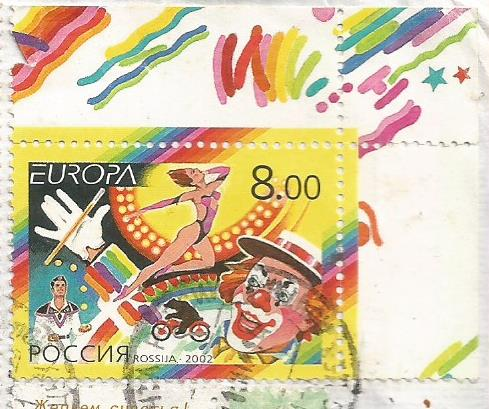 RUSSIA EUROPA  2002 CIRCUS