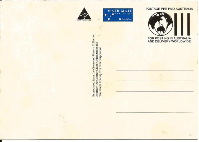 AUSTRALIA POST - MAXIM CARD
