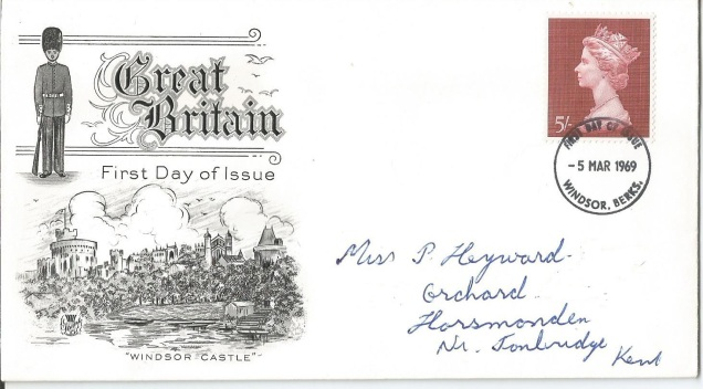 FDC 69 GB WINDSOR 2