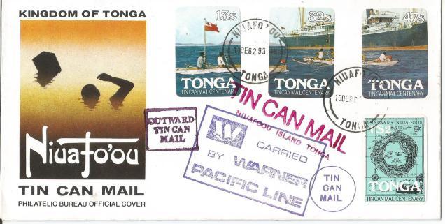 FDC TONGA TIN CAN MAIL1