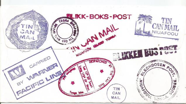 FDC TONGA TIN CAN MAIL2