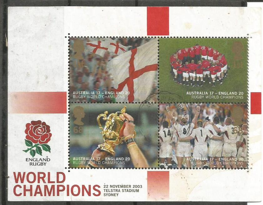 2003 RUGBY WC ENG CHAMPIONS