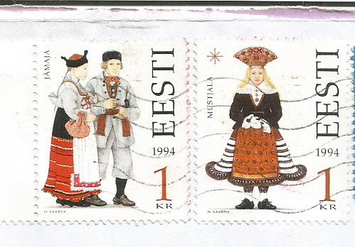 COSTUMES ESTONIA 1994
