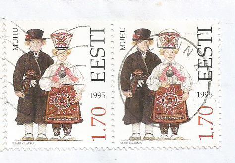 COSTUMES ESTONIA 1995
