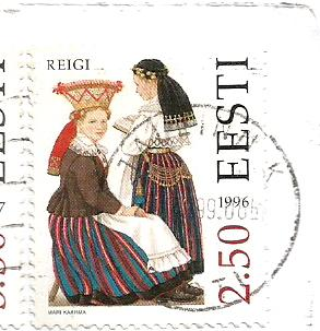 COSTUMES ESTONIA 1996