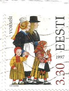 COSTUMES ESTONIA 1997
