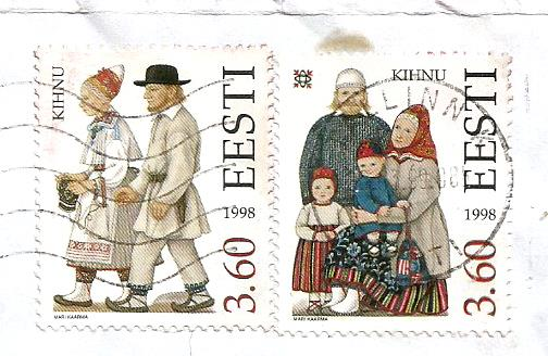 COSTUMES ESTONIA 1998