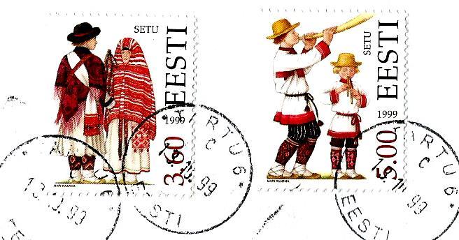 COSTUMES ESTONIA 1999