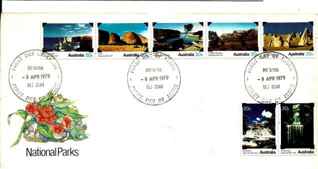 FDC AUSTRALIA 1979 NPARKS