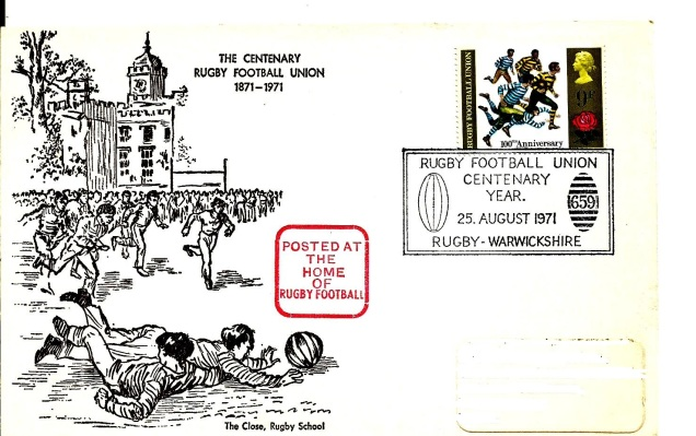 FDC CENTENARY RUGBY FOOTBALL UNION GB