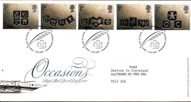FDC SPECIAL OCCASIONS GB