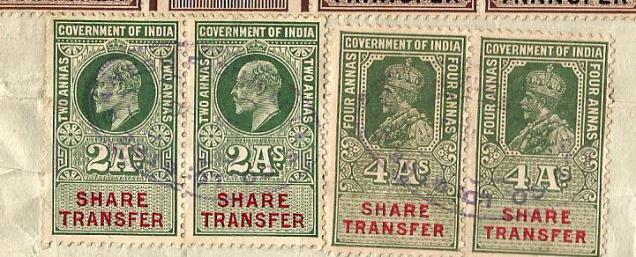 INDIA SHARE TRANSFER